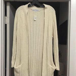 HYFVE cream sweater (small), new with tags